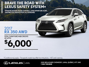 Save on the 2017 Lexus RX 350 Today!