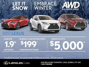 Let it snow Lexus