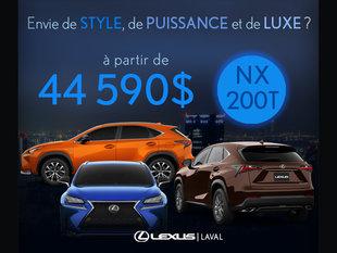 Envie de style, de puissance et de luxe?