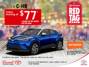 Save on the 2018 Toyota C-HR Today!