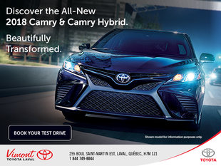Discover the All-New 2018 Camry