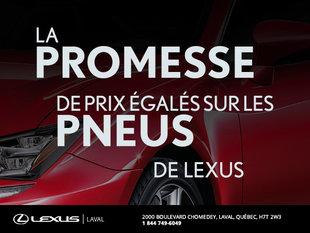 La promesse de prix égalés sur les pneus de Lexus