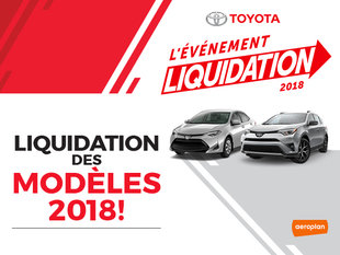 LIQUIDATION DES MODÈLES 2018!