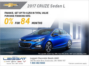 Save on the 2017 Cruze Sedan!