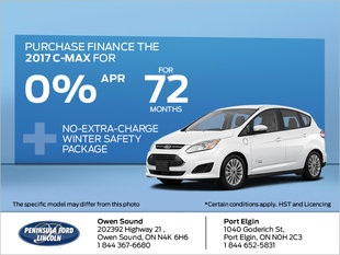 Save on the 2017 C-MAX