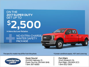 Save on the 2017 Super Duty