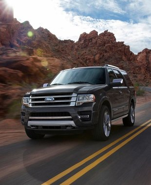 The new 2015 Ford Expedition