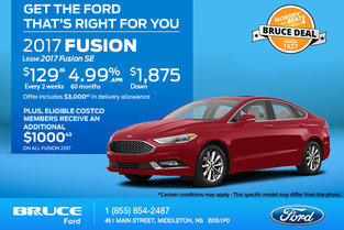 Get the 2017 Ford Fusion Today!