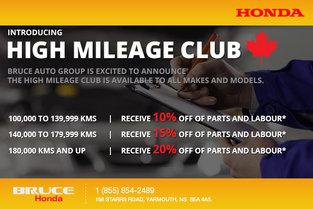 High Mileage Club