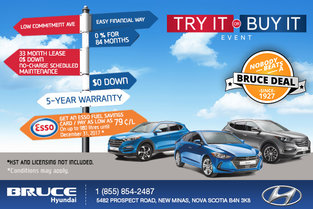 Hyundai's Try It or Buy It Event!