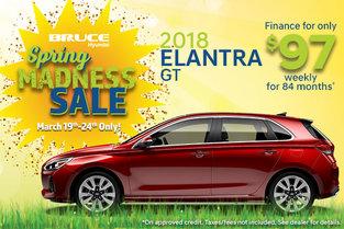 Finance The 2018 Elantra GT