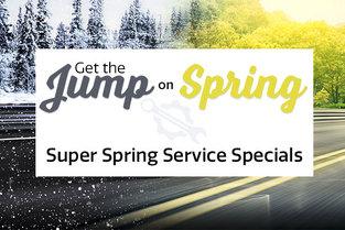 Super Spring Service Specials