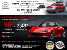 Obtenez la Mazda MX-5 2017!