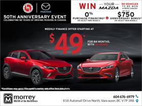 Mazda's 50th anniversary event !