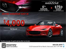 Get the 2018 Mazda MX-5!