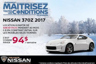 Nissan 370Z 2017 en rabais!