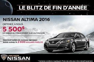 Nissan Altima 2016 en rabais!