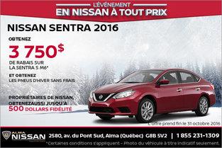 Nissan Sentra 2016 en location