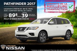 Nissan Pathfinder 2017 en location