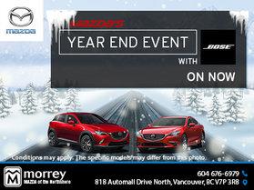 Morrey Mazda's Monthly Sales Event!