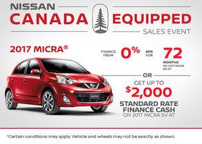 2017 Nissan Micra at Morrey Nissan