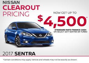 Save Big on the 2017 Nissan Sentra SR Turbo