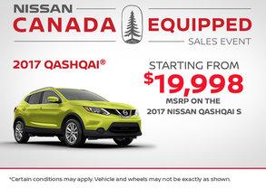 2017 Nissan Qashqai at Morrey Nissan