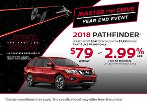 2018 Nissan Pathfinder at Morrey Nissan