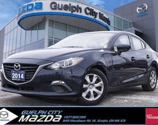 2014 Mazda Mazda3 GX-SKY 7 Year 160,000 km Ext Warr included