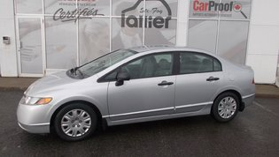 Honda Civic Sdn DX-A 2008 GARANTIE 10 ANS 200000KM