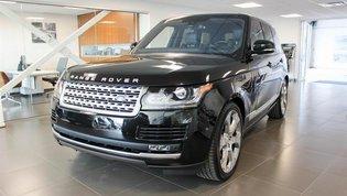 2016 Land Rover Range Rover SC CERTIFIE