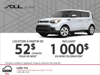 La Kia Soul 2019