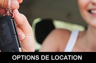 Options de location