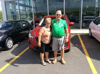 Merci pour une 3ème fois :) de Prestige Mazda à Shawinigan