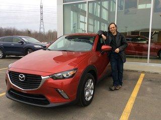 Mon nouveau CX-3! de Prestige Mazda à Shawinigan
