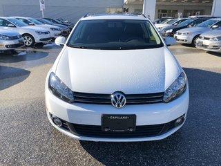 2014 Volkswagen Golf wagon Wolfsburg Edition 6sp 2.5 at w/ Tip