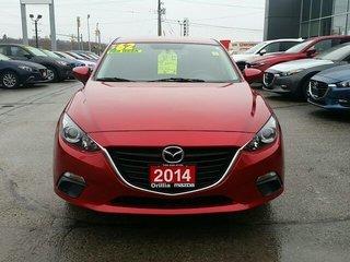 2014 Mazda Mazda3 GS SKYACTIV-HATCHBACK-BACKUP CAMERA-ALLOYS
