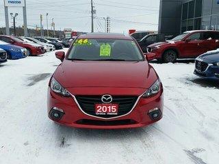2015 Mazda Mazda3 GS-SKYACTIV-ROOF-HEATED SEATS-BACKUP CAMERA