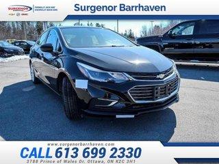 Chevrolet Cruze Premier  - Leather Seats - $166.02 B/W 2018