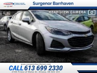 2019 Chevrolet Cruze LT  - Heated Seats -  Bluetooth - $145.03 B/W