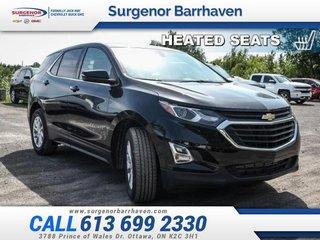 2018 Chevrolet Equinox LT  - Bluetooth -  Heated Seats - $226.35 B/W