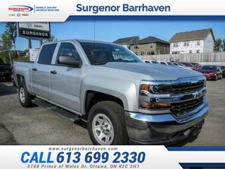2018 Chevrolet Silverado 1500 Work Truck  - $284.57 B/W