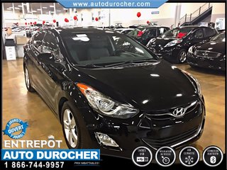 Hyundai Elantra GLS MANUELLE TOUT ÉQUIPÉ BLUETOOTH TOIT OUVRANT 2013