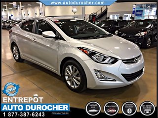 Hyundai Elantra AUTOMATIQUE JANTES  TOIT OUVRANT CAMÉRA DE RECUL 2016