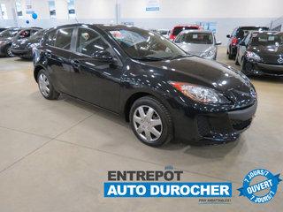 2013 Mazda Mazda3 GX/HATCHBACK/ PORTES ET VITRES ÉLECTRIQUE