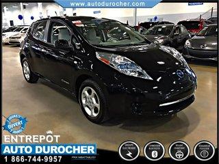 2012 Nissan Leaf AUTOMATIQUE SYSTEME DE NAVIGATION TOUT ÉQUIPÉ