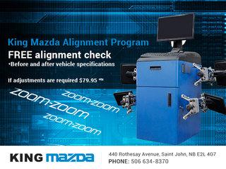 King Mazda's Alignment Program!