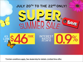 Super Summer Sale Event