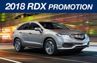 2018 RDX Promotion