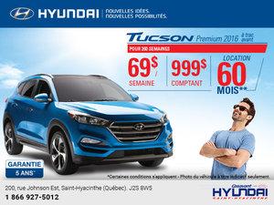 Louez le Hyundai Tucson 2016 à 69$ par semaine